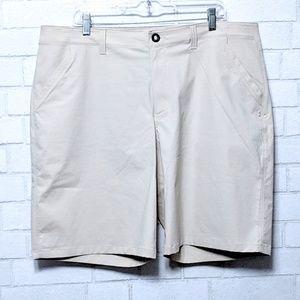 Under Armour: Fish Hunter Khaki Shorts 40